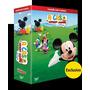 A Casa Do Mickey Mouse - Coleção Com 11 Dvds - Exclusivo Box