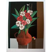 Inos Corradin - Vaso De Flores - Uma Obra Prima - Imperdível