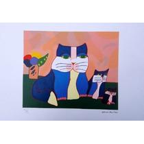 Aldemir Martins - Família De Gatos I - Forme O Par