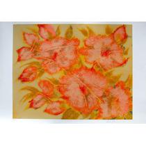 Chico Ferreira - Composição Floral 2 - Enorme Serigrafia!