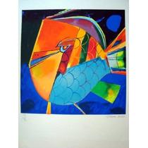 Aldemir Martins - Peixe Colorido - Linda Serigrafia !!!