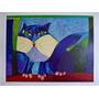 Aldemir Martins - Gato Azul - Serigrafia Enorme E Linda!