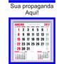 100 Folhinhas Comercial Calendário Grande Personalizado