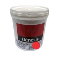 Tinta Genesis Silkscreen Em Tecido 900ml Fluor Vermelho
