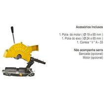 Serra Corte Alumínio Policorte Fa-2 1 Cv Trif. C/ Bancada
