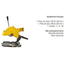 Serra Corte Alumínio Policorte Fa-2 S/ Bancada S/ Motor