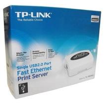 Tp-link Print Server Tl-ps110u Usb - Lacrado Na Caixa.
