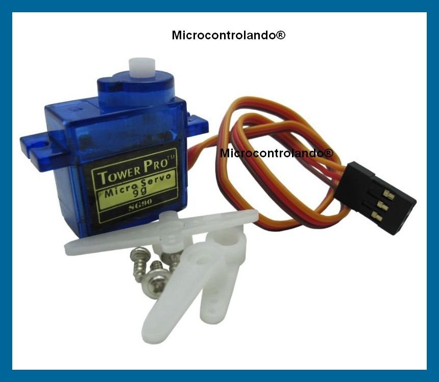 Servo motor 9g sg90 arduino pic micro servomotor for Micro servo motor arduino