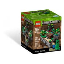 Lego Minecraft 21102 - Micro World - 100% Original Lacrado!