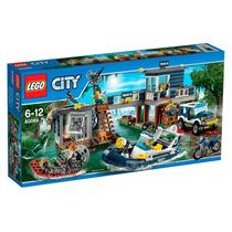 Lego - Delegacia Da Polícia Do Pântano - 60069