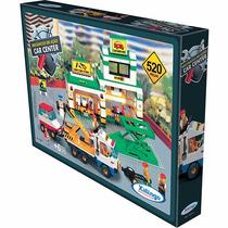 Novo Brinquedo Mecânicos Em Ação Car Center 520 Pçs Xalingo