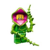 Lego Minifigures Series 14 Plant Monster Lacrado By Tbc