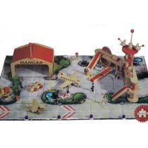 Brinquedo Aeroporto Madeira Produto Alemão Educativo