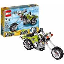 Lego Creator 31018 Moto De Passeio 3 Em 1 - Novo
