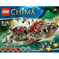 Lego Chima Comandante Cragger 70006 Lançamento