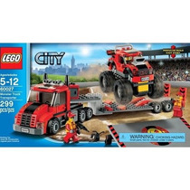 Lego City Monster Truck Transporter