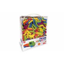 Pinos Mágicos 500 Peças Brinquedo De Montar Elka + Nf