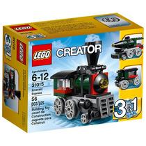 Brinquedo Novo Lacrado Lego Creator Expresso Esmeralda 31015
