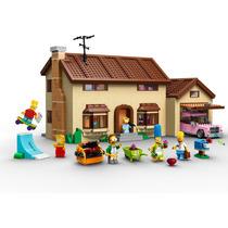 Lego The Simpsons House 71006 No Brasil Para Envio Imediato
