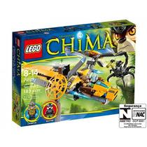 Lego 70129 Legends Of Chima Avião De Duas Hélices 183 Peças