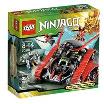 Lego Ninjago Tanque Devastador - 328 Peças - 70504