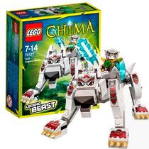 Lego Chima Wolf Legend Beast Lobo 110 Peças + Figura 70127