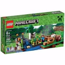 Lego Minecraft A Fazenda 262 Peças - 21114