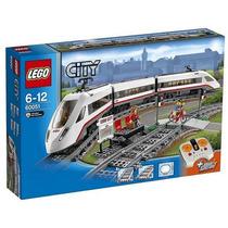 Lego 60051 High-speed Passenger Train Lançamento 2014
