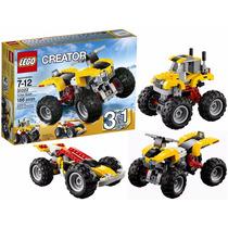 Lego Creator - Turbo Quad Quadriciclo 3 Em 1 - 186 Peças
