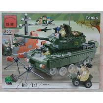 Tanque De Guerra Soviético 466 Peças Similar Lego P/ Montar