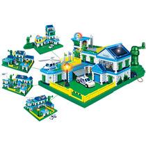Cidade Policial Eco-sustentável - Cinco Projetos 3d