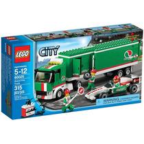 Brinquedo Criança Lego City Caminhão Do Grande Prêmio 60025