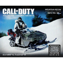 Mega Bloks Call Of Duty Mountain Recon 06812
