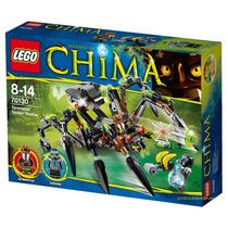 70130 Lego Chima - Aranha Caçadora De Sparratus - 292 Peças
