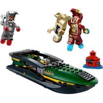 Tipo Lego Homem De Ferro Batalha No Mar, Marvel