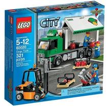 Lego 60020 - Lego City-caminhão De Transporte De Mercadorias