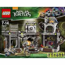 Lego Ninja Turtles 79117 Invasão Ao Covil Das Tartarugas