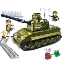 Brinquedo De Montar Tanque De Guerra 260 Pcs Banbao