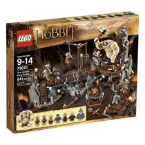 Lego The Hobbit 79010 The Goblin King Battle - 841 Peças