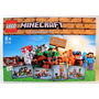 Lego 21116 Minecraft Crafting Box - Estoque No Brasil