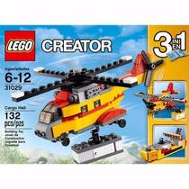 Lego Creator Cargo Heli 3 Em 1 31029