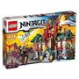 Lego 70728 - Ninjago - Combate Por Ninjago City - 1223 Peças