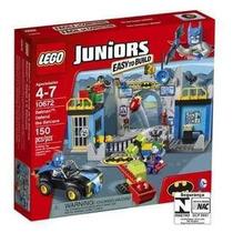Lego 10672 - Lego Juniors - Ataque Da Batcaverna -4 A 7 Anos