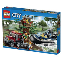 Lego 60071 Lego City Hovercraft Arrest A Pronta Entrega