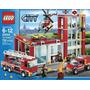 Lego 60004 Lego City Quartel Dos Bombeiros