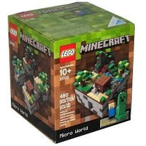 Lego Minecraft Micro World 21102 - Pronta Entrega