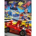 Mega Bloks Pista De Corrida Carros F-1 Motor Sport Tipo Lego