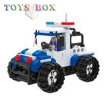 Blocos De Montar Esquadrão De Polícia 110 Peças Tipo Lego