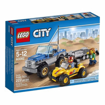 Lego City 60082 Buggy Trailer Carro Pickup Novo 222pcs
