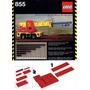 Lego Technic 855, Rarissimo Do 1978, Usado, Pronta Entrega